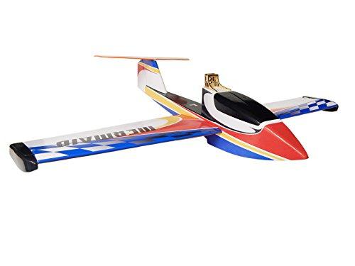 Arkai Mermaid Wasserflugzeug Rasenrutscher - 1200 mm Spannweite (Rot / Blau)
