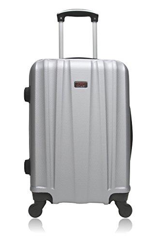 Hero Gomera koffer, 66 cm, 60 liter, grijs (gris)