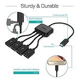 Zoom IMG-2 micro usb hub adaptor with