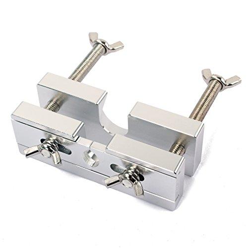 Alnicov Mundstück-Abzieher Werkzeug, Silber Aluminium Mundstück-Abzieher Ersatz für Blasinstrumente