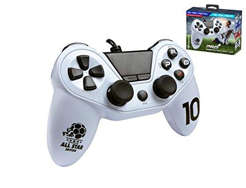 Mando Pro4 fútbol con cable - Accessorio compatible con PS4 / Slim...