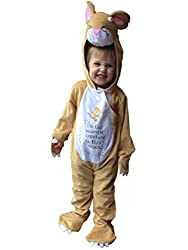 Small: Age 3-5 years, Height: 98-110cm, Chest: up to 57 cm, Waist: up to 53cm This is a perfect licensed quality costume forparties, world book day, fun and play. All in one Jumpsuit/Onsie. Fastening Jumpsuit has velcro fastening. Includes Jumpsuit ...