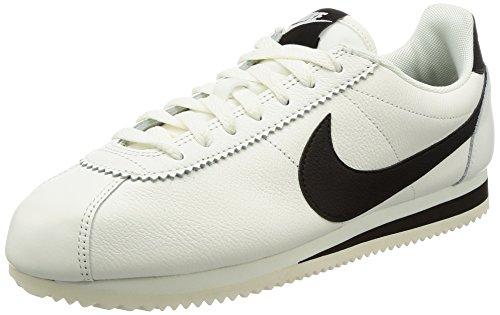Nike Herren Classic Cortez Leather SE Beige Leder Sneaker 43