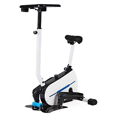 Haushalts-elliptischer Maschine Cross Trainer elliptischer Kreuztrainer, Trainingsschritt Maschine stufenlosen Widerstandsanpassung elliptischer Trainer + Tablet-Halter WXCise Machine Bike Trainer Ste