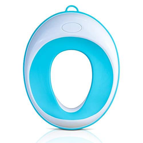 Lama Sam & Friends - Toilettentraining-Sitz für Kinder - Klobrille für Jungen und Mädchen - sichere rutschfeste Oberfläche in Farbe (Aqua) (Aqua)