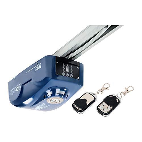 MSW Motor Technics Garagentorantrieb mit Fernbedienung MSW GD-800 (Zahnriemen, 16 cm/s, 800 N, 250 W, 24 V, Autom. Beleuchtung, Soft-Start-/Stop-Funktion)