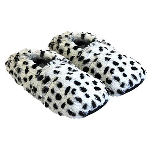 Thermo Sox pantofole riscaldabili ciabatte con semi per microonde e forno misura M / EU36-40 dalmata...