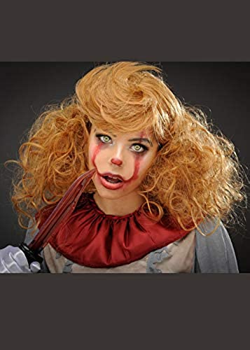 online barato Magic Magic Magic Box mujer Deluxe New Pennywise Style It Clown Wig  para barato