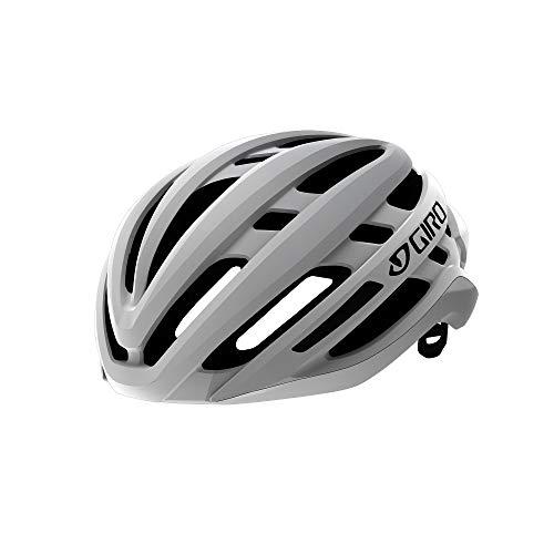 GIRO ジロ 自転車ロードヘルメット アジリス ミップス AGILIS MIPS マットホワイト Mサイズ(55~59cm) スタ...