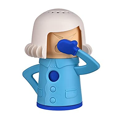 Chilly Mama Fridge Deodoriser Angry Mama Fridge Cleaner Freezer Odor Freshener Remover, Just Add Baking Soda- Blue Mama
