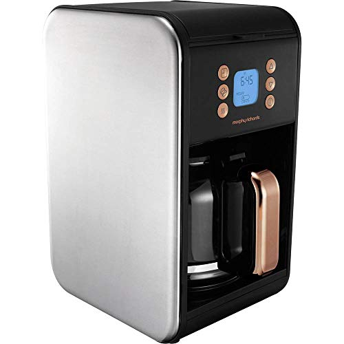 Morphy Richards 162011 Kaffeemaschine Accents-162011, Schwarz