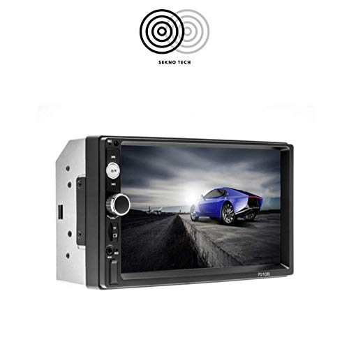 Stereo Auto Autoradio Aux Bluetooth Navigatore Phone Back Camera Telecamera Posteriore Car Player - K0126