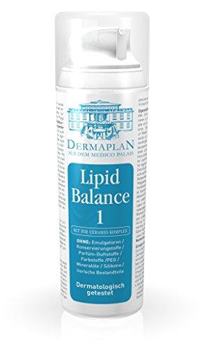 Dermaplan Lipid Balance 1 | sensible & trockene Haut effektiv lindern | Haut-Creme bei empfindlicher & gereizter Haut | Neurodermitis & Psoriasis | feuchtigkeitsspendend | 100% Vegan, 150 ml