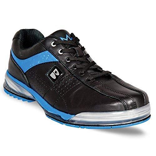Zapatillas de bolera para hombre Cambio Suela nshuhe TPU X Negro negro/azul Talla:44.5