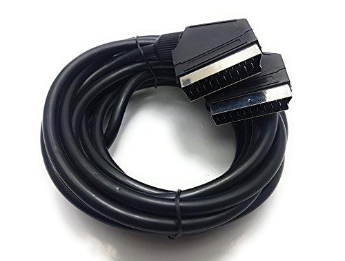 MainCore Kabel / Scart auf Scart/ 21-polig, erhältlich in 0,75 m, 2 m, 3 m, 5 m 5m
