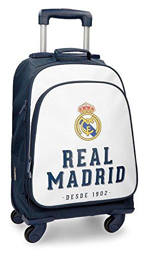 Real Madrid RM GOL Equipaje de Mano, 50 cm, 33.6 litros,