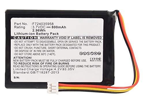 Synergy Digital GPS Battery, Compatible with Tomtom LG ICP523450 C1 GPS, (Li-Ion, 3.7V, 800 mAh) Ultra High Capacity Battery