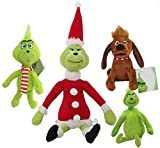 Christmas Plush Toys Grinch Plush Doll Toys How The Grinch Stole Stuffed for Kids Gifts
