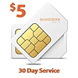 SpeedTalk Mobile $5 Prepaid GSM Sim Card for GPS Tracking...