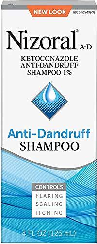 Nizoral A-D Ketoconazole Anti-Dandruff Shampoo 7 fl oz (Pack of 4)