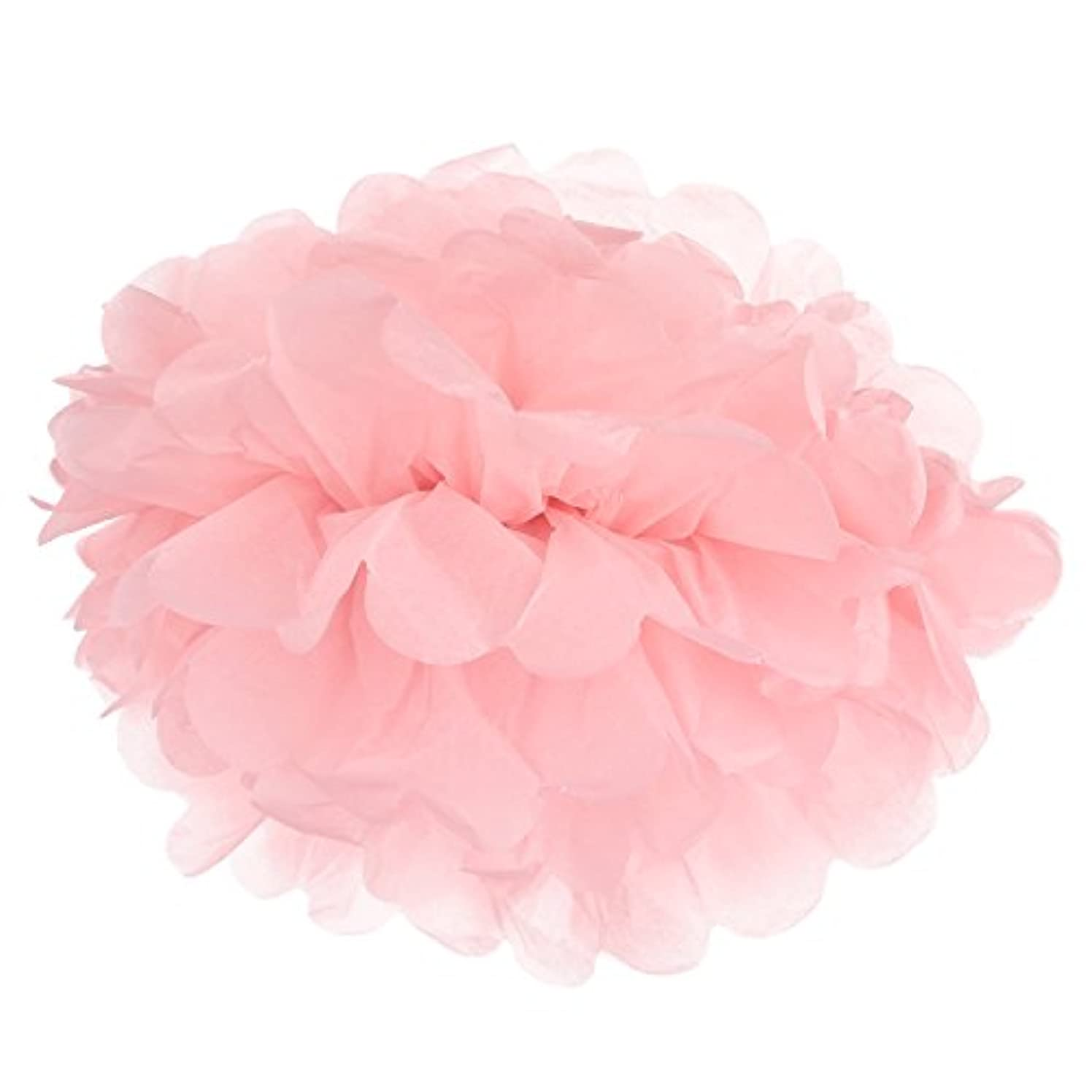 Kakaxi(TM) Tissue Paper Flowers Tissue Paper Pom Poms Party Decorations for Weddings, Birthday Parties (pack of 28)