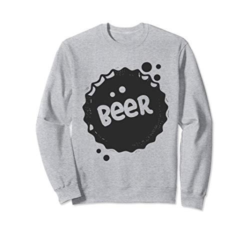 Cerveza - Cerveza tapas de botellas más fresco - diseño fres Sudadera