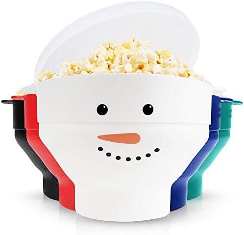 Zulay Kitchen Microwave Popcorn Popper Collapsible BPA Free Silicone Popcorn Popper Microwave product image
