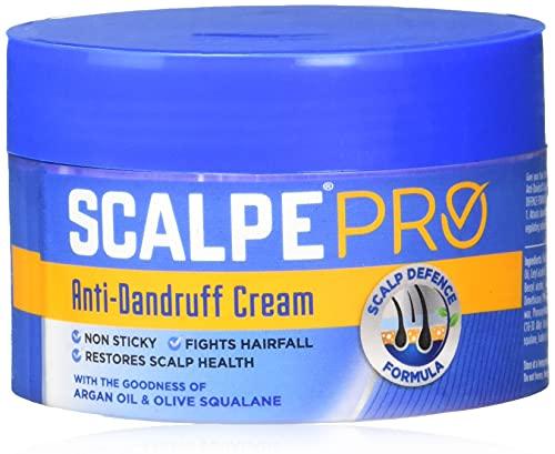 Scalpe Pro Anti Dandruff Hair Cream, 100 g (Pack of 4)