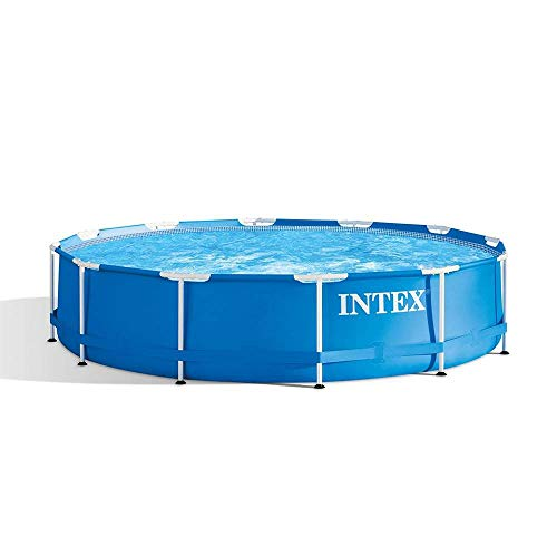 Intex 28210EH 12 Foot x 30 Inch Above Ground Swimming Pool That fits up to 6...