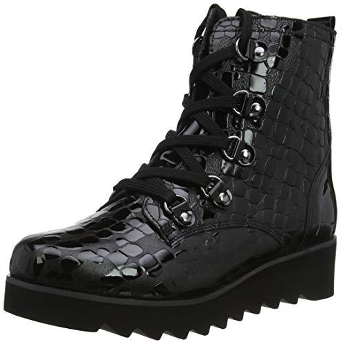 Gerry Weber Shoes Damen Udele 09 Combat Boots, Schwarz (Schwarz Vl52 100), 36 EU