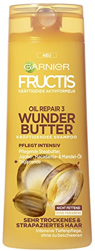 Garnier Fructis Oil Repair Wunder Butter Shampoo, 250 ml