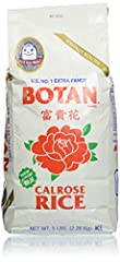 Us #1 extra fancy calrose rice Kosher certified Great for sushi Milled in California