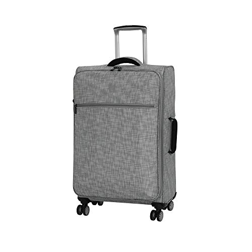 it luggage 26.8' Stitched Squares Lightweight Case, Flint Grey