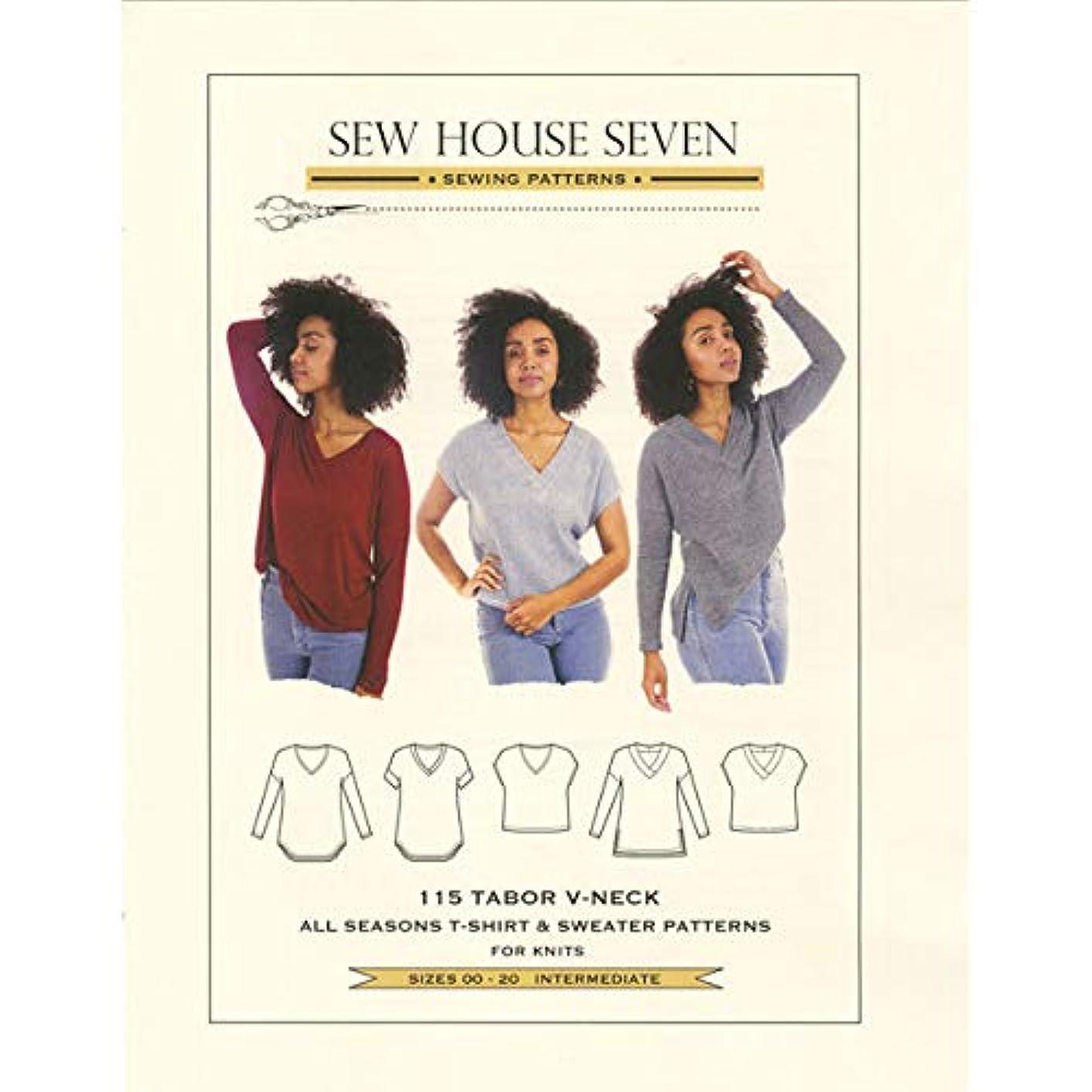 Sew House Seven SHS115 Tabor V Neck Pattern