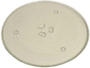 SAMSUNG - Plato original de 25,7 cm de diámetro, con dientes de arrastre. Compatible con varios modelos.