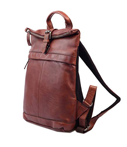 Greenburry Vintage Washed City Rucksack Leder 33 cm