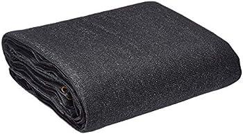 AmazonCommercial Heavy Duty Black Knitted Mesh Tarp