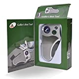 Golfer's Best Tool Golf Multitool All-IN-ONE - Stroke Counter, Divot...