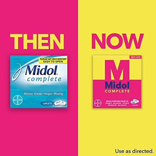 Midol Menstrual Formula Caps