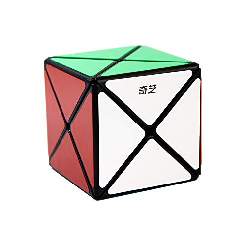 FunnyGoo 8 ejes X Dino Skewb cubo mágico suave puzzles Cube (negro)