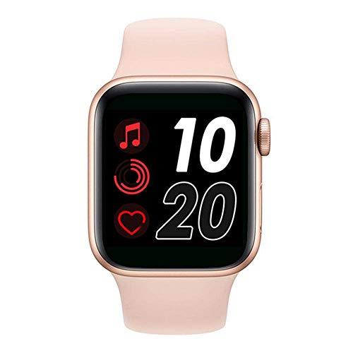 Smartwatch Relógio Inteligente IWO 9 44mm Whatch4 série 6 (Rosa) - Original com GPS
