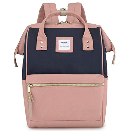 Himawari Travel School Backpack with USB Charging Port 15.6 Inch Doctor Work Bag for Women&Men College Students(USB H900D-ZF)