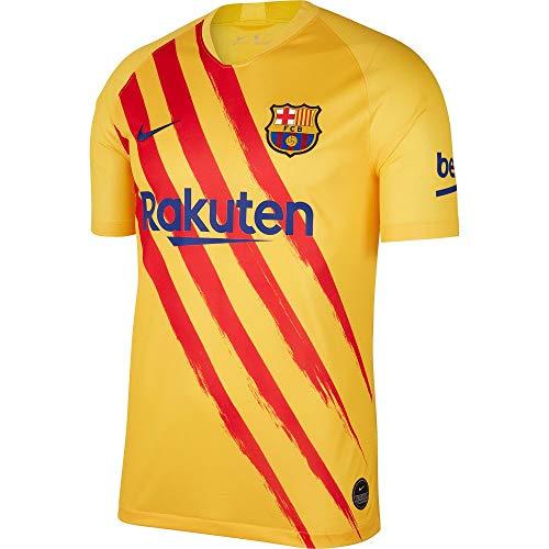 NIKE FCB M NK BRT STAD JSY SS ELC Camisetas para Jugar,...