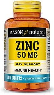Mason Natural, Zinc, 50 mg, 100 Tablets