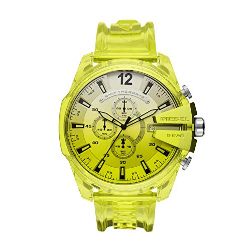Diesel Reloj Analógico para de los Hombres de Cuarzo con Correa en plástico DZ4532