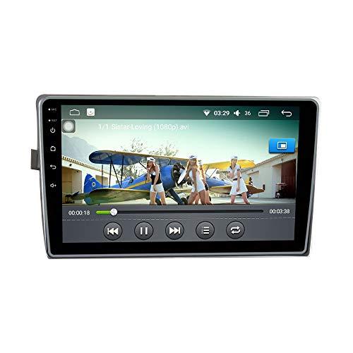 Android 10 Autorradio Navegación del Coche Unidad Principal Estéreo Reproductor Multimedia GPS Radio IPS 2.5D Pantalla táctil porToyota Verso 2010-2015
