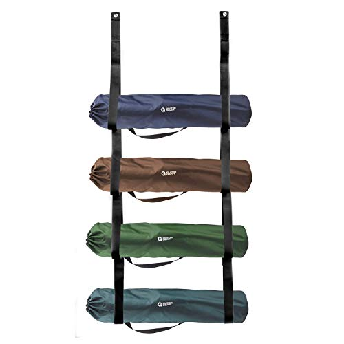 Camping Chair Wall Storage for Garage This Organizer System Holds 4 Chairs Simple Easy Wall Mount for Garage Organization