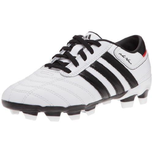 Adidas Adinova II TRX FG J-Chaussures Terreno Duro de fútbol Infantil, Color Blanco, Negro y Rojo Brillante, Blanco (Blanc/Noir/Rouge vif), 37 1/3