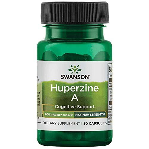 Swanson Maximum-Strength Huperzine A 200 mcg 30 Capsules