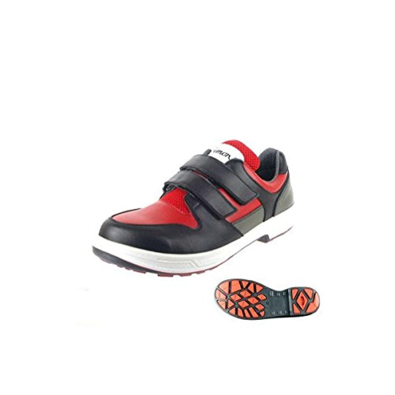 シモン安全靴 トリセオシリーズ 短靴 赤/黒 23.5 8518REDBK23.5